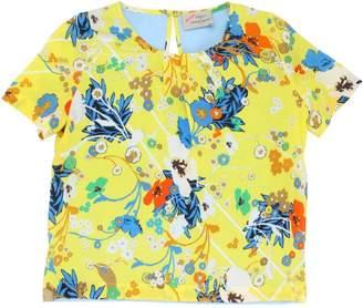 Millie Floral Printed Viscose Top
