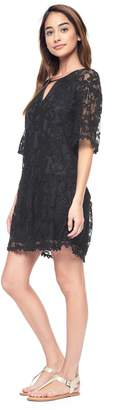 Juicy Couture Hibiscus Lace Dress