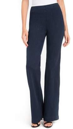 Lysse Wide Leg Denim Trousers