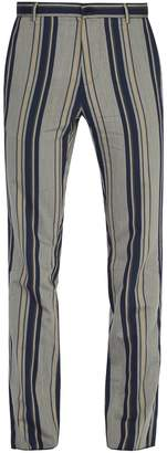 ARJÉ The Nico striped trousers