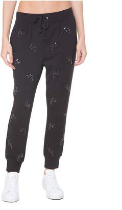 Juicy Couture Jewel Paisley French Terry Pant
