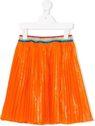 Gucci Kids iridescent plissé skirt