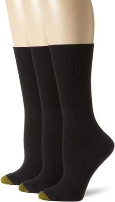 Gold Toe Women's Plus-Size 3 Pair Pack Anklet Socks