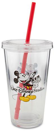 Disney Walt Studio Tumbler with Straw