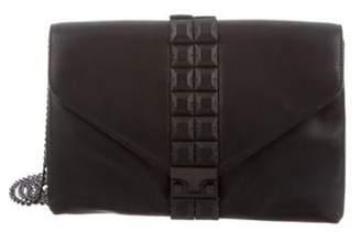 Loeffler Randall Leather Crossbody Bag Black Leather Crossbody Bag
