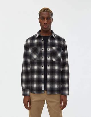 Carhartt Wip Halleck Flannel Shirt in Black Check