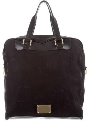 Mulberry Canvas Tote $310 thestylecure.com