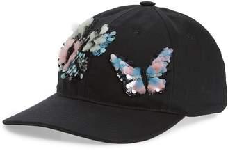 Valentino Butterflies Baseball Cap