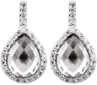 Burgmeister Jewelry Earring Studs with Cubic zirconia 925 sterling Silver, code JHE 1049-221