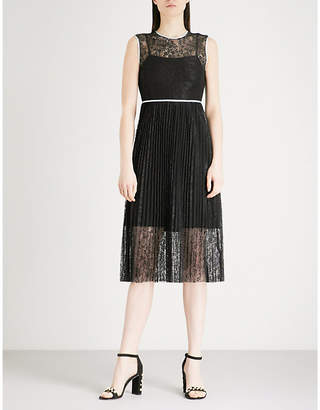 Maje Rabila floral-lace dress