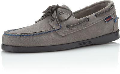 Sebago Dockside Slip-On, Light Gray