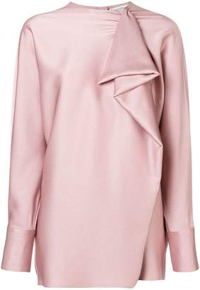 Valentino frilled blouse