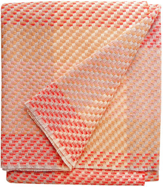 Claire Gaudion Coral Throw