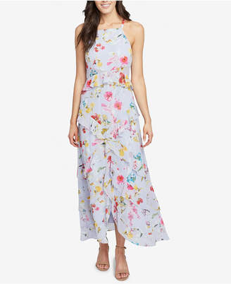 Rachel Roy Flora Printed Ruffled Maxi Dress, Created for Macy's