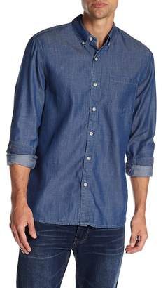 Joe's Jeans Sandoval Chambray Long Sleeve Regular Fit Shirt