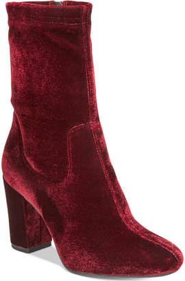 Kenneth Cole New York Women's Alyssa Block-Heel Booties Women's Shoes