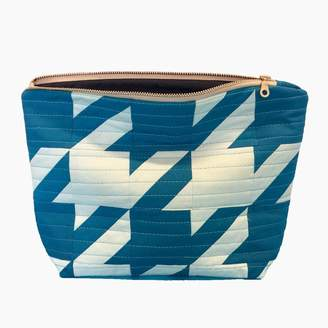 Lucy Engels Rita - Quilted Makeup Bag - Blue Pale Blue