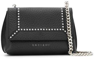 Orciani flap closure crossbody bag
