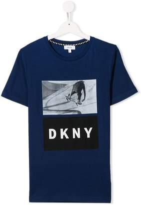 DKNY graphic logo T-shirt