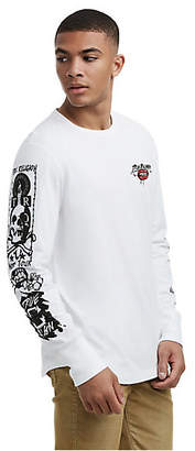 True Religion MENS TATTOO GRAPHIC LONG SLEEVE SHIRT