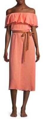 Eberjey Nomad Florence Cotton Midi Dress