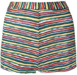 Missoni woven striped shorts