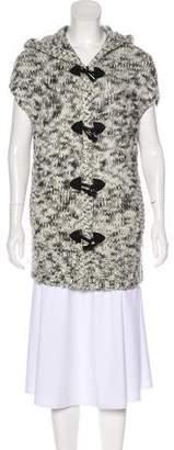 Alice + Olivia Hooded Knit Vest
