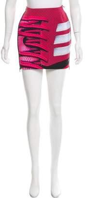 Mary Katrantzou x Adidas Printed Mini Skirt w/ Tags