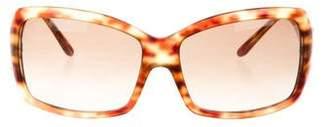 Persol Tortoiseshell Oversize Sunglasses