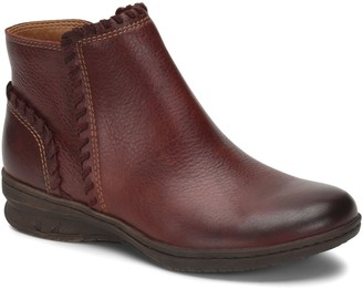 Comfortiva Leather Ankle Booties - Fallston