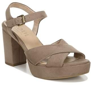 Naturalizer SOUL Aries Crisscross Sandal - Wide Width Available