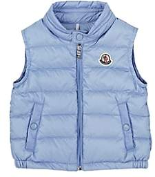 "Moncler Infants' ""New Amaury"" Down-Quilted Vest - Lilac"
