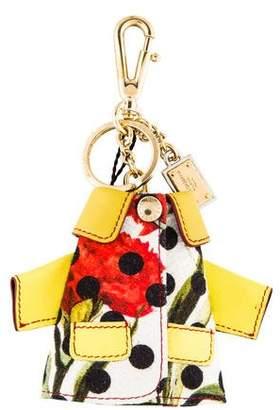 Dolce & Gabbana Polka Dot Coat Keychain