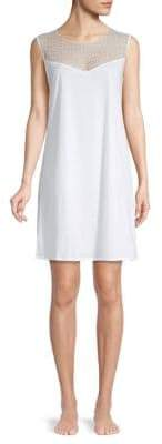 Hanro Embroidered Sleeveless Nightgown