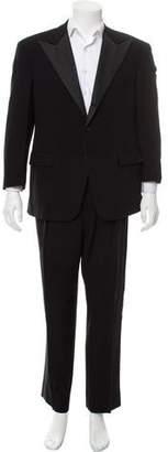Ralph Lauren Satin-Trimmed Wool Tuxedo
