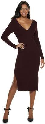 JLO by Jennifer Lopez Women's Reversible Sweater Dress