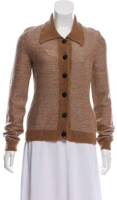 Calvin Klein Collection Wool & Mohair Cardigan