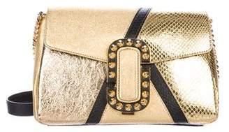 Marc Jacobs Metallic Chain-Link Crossbody Bag