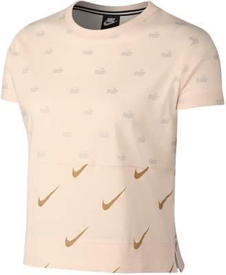 Nike Sportswear Metallic Logo Tee
