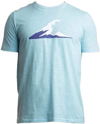 Tonn Irish Coast Wave Tshirt Turquoise