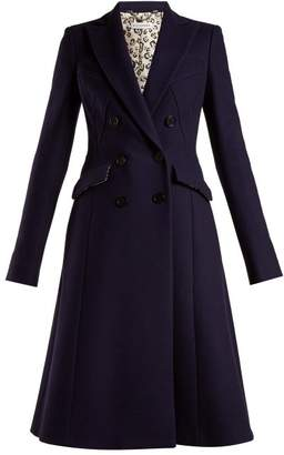 Altuzarra Elvin Wool Blend Coat - Womens - Navy
