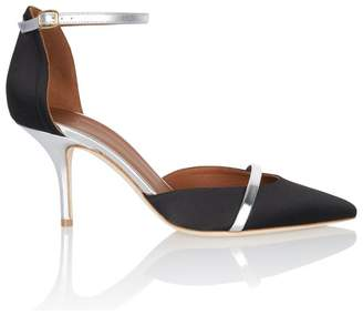 Malone Souliers Booboo Black Satin Pump