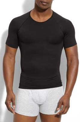 Spanx R) 'Zoned Performance' Compression Crewneck T-Shirt