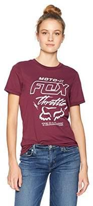 Fox Junior's Throttle MANIAC Boyfriend FIT Short Sleeve T-Shirt