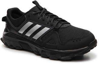 adidas Rockadia Trail Running Shoe -Black/Silver - Men's