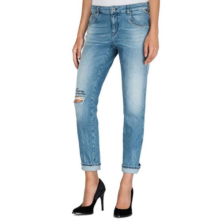 Blue Katewin Slim Boy Fit Stretch Jeans