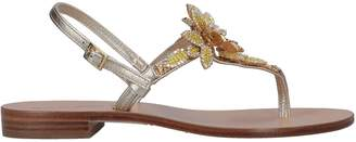 Dolce & Gabbana POSITANO Toe strap sandals
