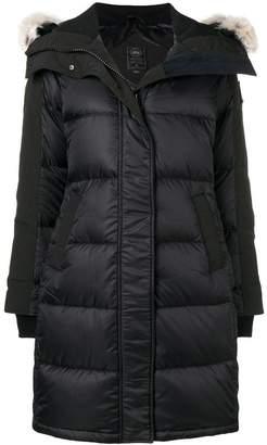 Canada Goose fur trim padded coat