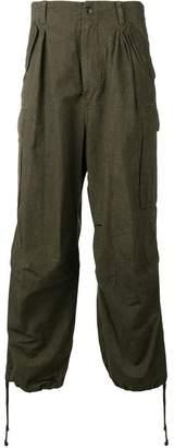 Yohji Yamamoto cargo relaxed trousers