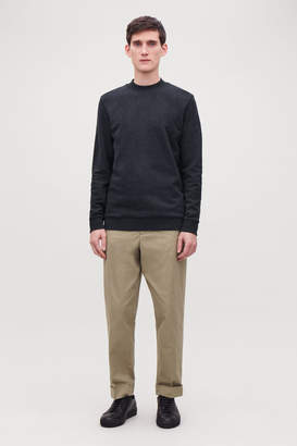 Cos SPECKLED JERSEY JUMPER